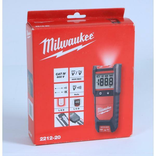Milwaukee 2212-20 Spannungstester Durchgangsprüfer Strom Prüfgerät 600V CAT IV
