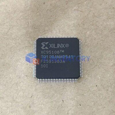 QFP-100 2PCS NEW XC95108-10TQ100I XILINX 0436