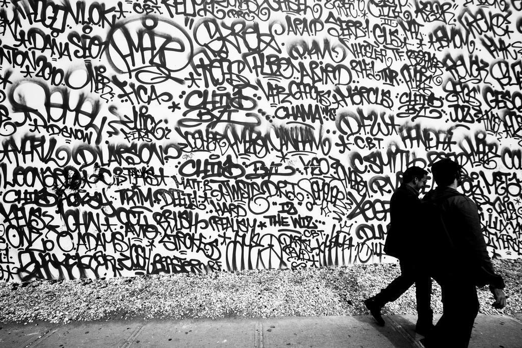 ART PRINT POSTER PHOTO GRAFFITI MURAL STREET CHOPSTICKS KID NOFL0170