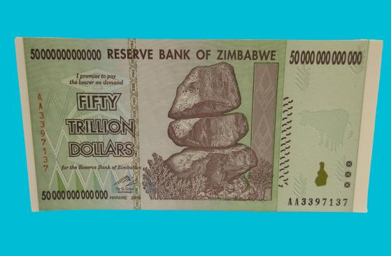 circulated 10 TRILLION ZIMBABWE DOLLARS 2008 AA 50 20 100 $10,000,000,000