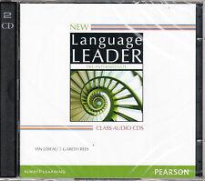 Pearson NEW LANGUAGE LEADER Pre-Intermediate CLASS AUDIO CDs 2014 Edition @NEW