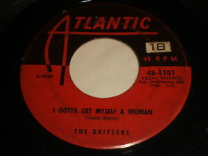 The-Drifters-I-Gotta-Get-Myself-A-Woman-Soldier-Of-Fortune-45-R-amp-B