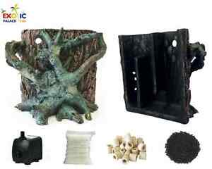 Filtre Biologique Compact Interne Pour Aquarium Pompe Laine Matériaux