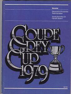 1979-GREY-CUP-PROGRAM-EDMONTON-ESKIMOS-MONTREAL-ALOUETTES
