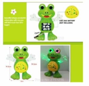 Light-Up-Dancing-Toy-Singing-Frog-Musical-LED-Animals-Toys