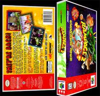 Rampage 2 Universal Tour - N64 Reproduction Art Case/box No Game.