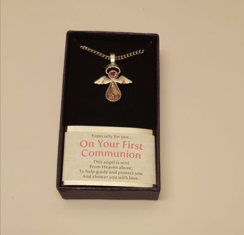 Communion Angel Necklace 3 Types