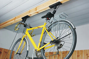 Image Is Loading NEW Bicycle Cycle Bike Storage Ceiling Mount Garage