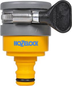 Hozelock Ltd Conector para grifo mezclador redondo ø máximo 24 mm, Yellow