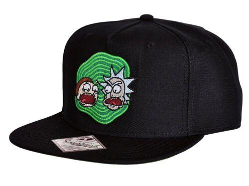 Portal Crazy Faces snapback Cap hat Bioworld Cappello Rick /& Morty