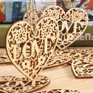 10x-forme-en-bois-amour-coeur-mariage-pendaison-decor-artisanat-embellissement