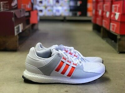 Adidas EQT Equipment Support Ultra Boost White Red BY9532 Sz
