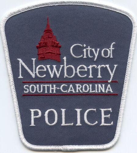 NEWBERRY SOUTH CAROLINA SC POLICE PATCH