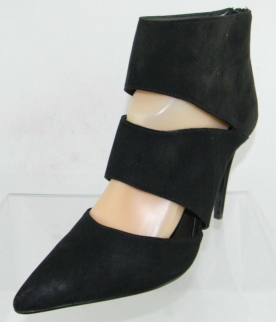 Women's KG by Kurt Geiger Black Suede Suede Suede Platform Ankle Boots Size 41 US 11 M e640ac