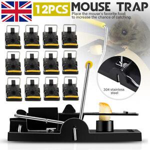 12-24PCS-Mouse-Trap-Catcher-Rat-Mice-Squirrel-Killer-Snap-Power-Rodent-Reusable