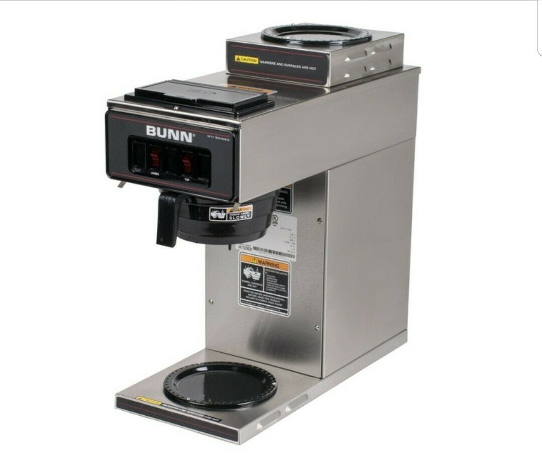 Profil Bas pourover Coffee Brewer avec 2 Warmers, Nº VP17-2, Bunn-O-Matic