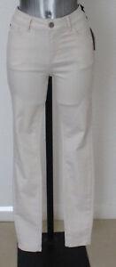 Ladies-M-amp-S-Indigo-Sizes-14-16-Stretch-Skinny-Jeans-Style-2-Ecru