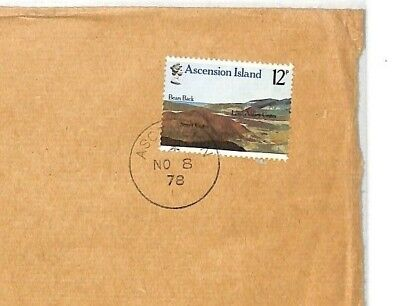 Ascension Island Cf31 1978 *ascension Island* Commercial Air Mail Cover Devon {samwells-covers} Buy Now Stamps