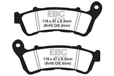 FIT HONDA NSS 250 EX5/EX7/EX8 Forza EX (ABS) 05>08 EBC FRONT CARBON BRAKE PADS