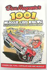 CT517 Steve Magnante's 1001 Muscle Car Facts GM, Ford, Chrysler, AMC, Buick Olds