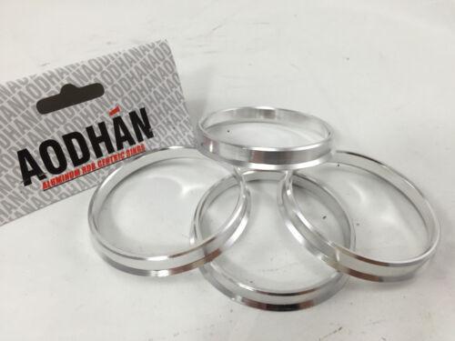 4 Aodhan Aluminum Hubrings57.1mm Car Hub to 73.1mm Wheel BoreID 57OD 73