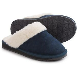 88adf547e70e Image is loading Women-039-s-Clarks-Suede-Scuff-Slippers
