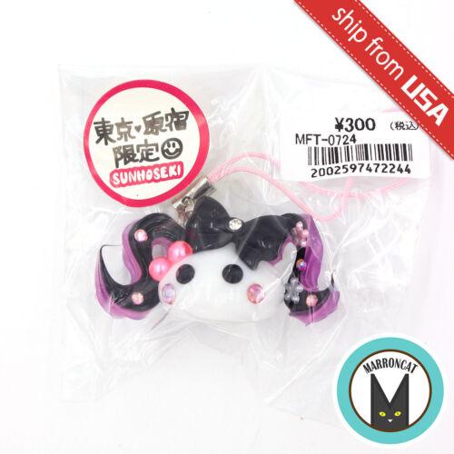 Hoppe Chan Sunhoseki Harajuku Limited Kawaii Cute Phone Charm Ponytail Girl Rare