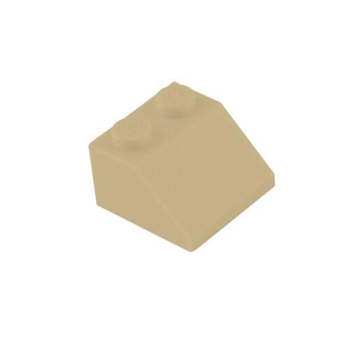 Schrägsteine Dachstein 2x2 Lego 50 Stück Dachsteine in beige 3039 tan