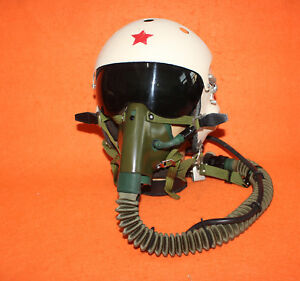 Image is loading Fighter-Pilot-Fighting-Flight-Helmet-Air-Force-Oxygen- 81c0c80ccc33e