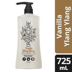 Organic Care Vanilla Ylang Ylang Moisturising Body Wash 725mL