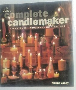 Book-The-Complete-Candlemaker-by-Norma-Coney-Techniques-Projects-Inspiration