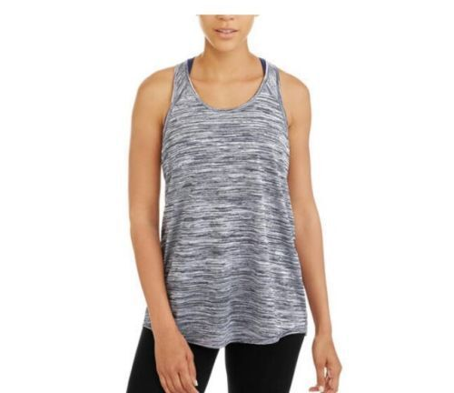 Womens Pink Loose Fit Active Tank Top Danskin Now Shirt Mesh Athletic Shirt New