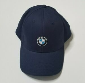 BMW-Lifestyle-Baseball-Cap-Hat-One-Size-Fits-All-Adult-Mens-or-Womens-Navy-Blue