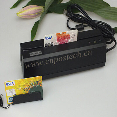 Magnetic Card Reader Writer MSRE206 w//Portable Collector Magstripe MINI400