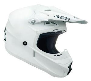 LAZER-X7-SOLID-WHITE-HELMET-ADULT-MOTOCROSS-MX-ENDURO-QUAD-ATV-BMX-MTB-ALL-SIZES