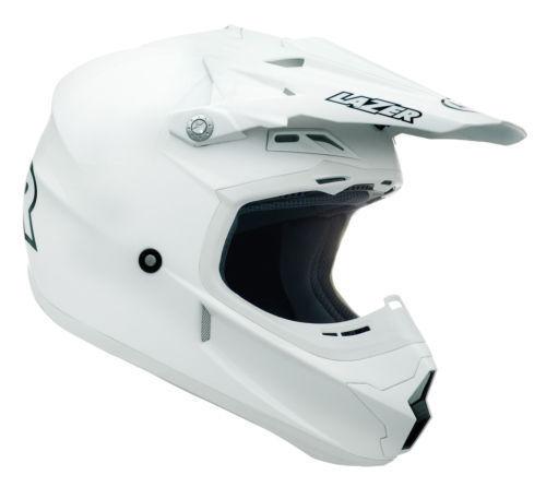 LAZER X7 WHIP HELMET WHITE BLACK ORANGE ADULT MOTOCROSS MX ENDURO QUAD BMX MTB