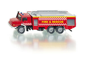Siku 2109 -  Mercedes Zetros Fire & Rescue          (1:50) Plastic & Metal Model