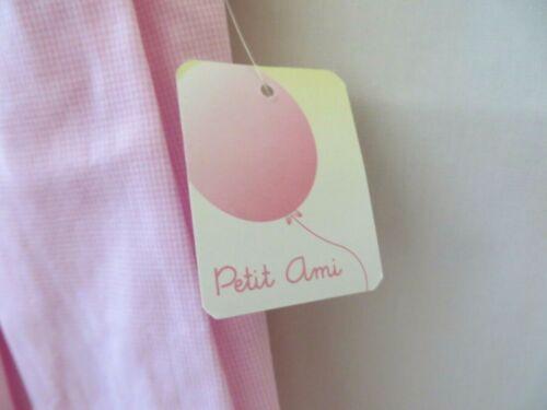 Petit Ami Smocked Bishop Dress 2229 Short Sleeves Pink Ck 3 6 or 9M #10484
