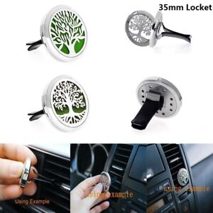 35MM-Fragrance-Essential-Oil-Diffuser-Steel-Car-Air-Vent-Freshener-Aromatherapy