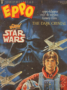 STRIPWEEKBLAD-EPPO-1983-nr-11-STAR-WARS-COVER-THE-DARK-CHRYSTAL-COMICS
