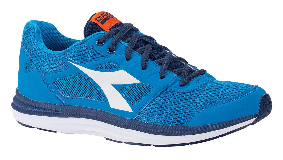 Diadora Running shoes Sneaker Jogging Man Heron Sky-blueee white  shoes  high discount