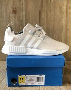 huge discount df824 48bf5 Details about Adidas NMD R1 Talc Cream Tan Sand Sneakers Womens Size 11  Mens Size 9 S76007