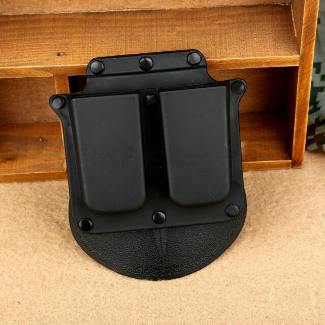 4500 Wide Belt Tactical Double Magazine Pouch Holster Clip for 1911 Gov't Models