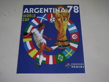 PANINI WORLD CUP ARGENTINA 78 1978 - OFFICIAL ALBUM REPRINTED  - 100% complete!