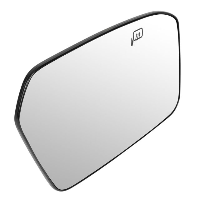 Fits 10-12 Ford Fusion Milan Right Pass Mirror Glass Lens w// Blind Spot Icon*