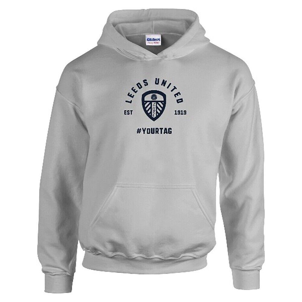 Leeds United F.C - Personalised Mens HOODIE (VINTAGE #)
