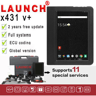 100% Original Launch X431 V+ Auto Scanner Full ECU System Car Diagnostic Tool