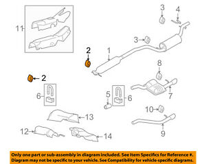 image is loading ford-oem-08-11-focus-exhaust-system-catalytic-