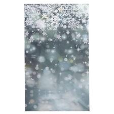 3x5FT Glitter Winter Snowflake Photography Backdrop Photo Studio Background Prop