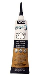 Gedeo-Gilding-Mixtion-Relief-Paste-3D-Metal-Foil-Leaf-Glue-37ml-Tube-Pebeo